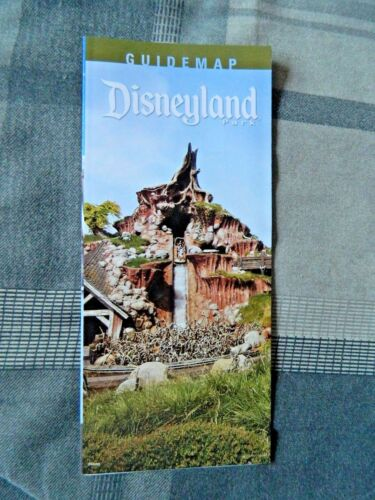 Disneyland Park Guide Map Splash Mountain April May 2015 Critter Country