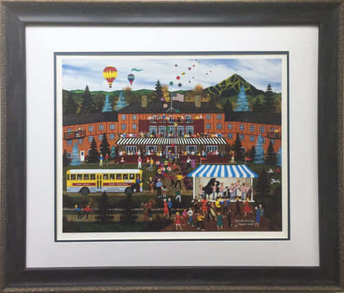 """Jane Wooster Scott """"And All That Jazz"""" New CUSTOM FRAMED Lithograph Hand Signed"""
