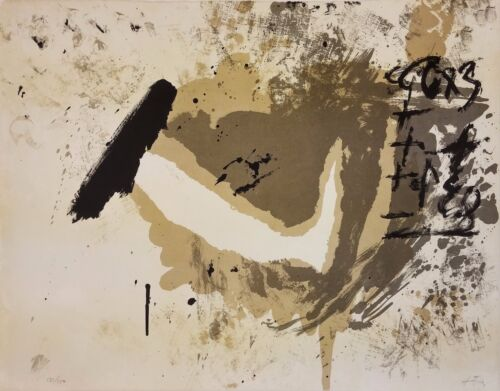 """ANTONI TAPIES """"UNTITLED"""" 1970 