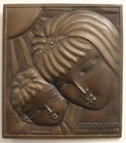 Slavic Copper plaque Impression