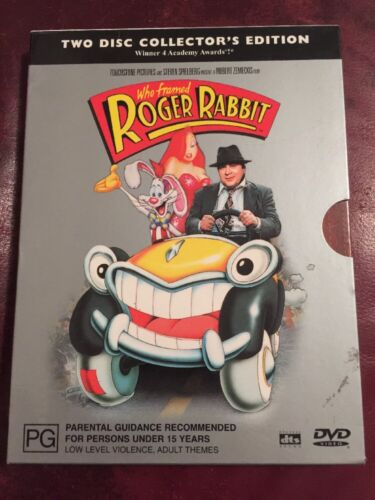 Who Framed Roger Rabbit 2 Disc Collection DVD Like New