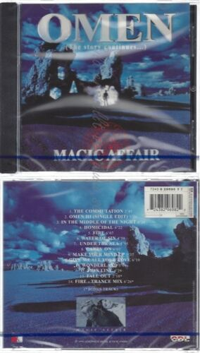 CD--NM-SEALED-MAGIC AFFAIR -1994- -- OMEN-THE STORY CONTINUES