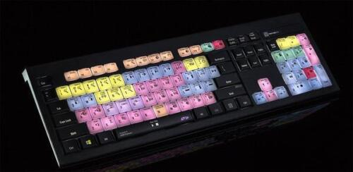 Logickeyboard Avid Pro Tools PC Backlit Astra USB Wired Keyboard For Win