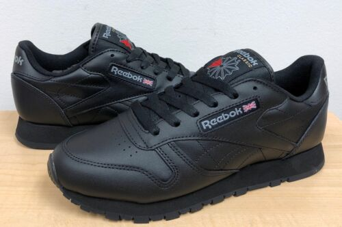 WOMENS REEBOK CLASSIC LEATHER 5324 Black/Black