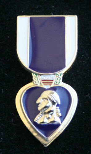 # PURPLE HEART MEDAL LAPEL HAT PIN US MARINES ARMY AIR FORCE NAVY COAST GUARDOther Militaria (Date Unknown) - 66534