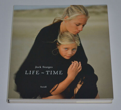 Jock Sturges Life Time Hardcover VERY RARE Color Photographs SIGNED 1/1 NM BOOK