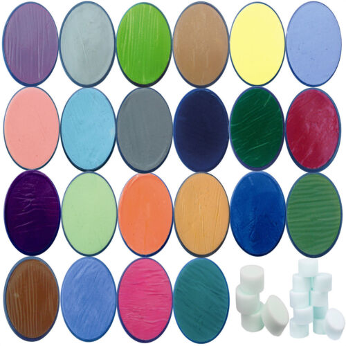 Snazaroo Face Paints Classic Colours Make Up Painting Party Halloween Fancy Body