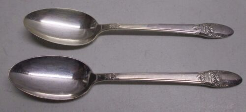 First Love Silverplate International Silver IS 1937 (2) Tablespoon Serving Spoon