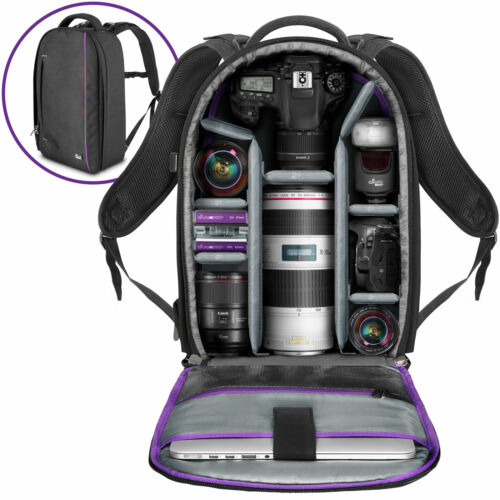 Large Camera Backpack Bag for Canon Nikon Sony DSLR & Mirrorless by Altura Photo <br/> 100% Satisfaction Guarantee/ US Brand/ 1 Year Warranty