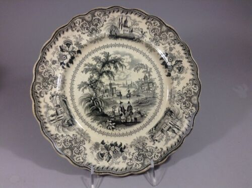 Staffordshire Commers Free Trade plate 19c