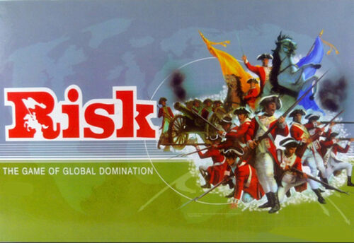 NEW IN BOX RISK : The Game of Global Domination - Family Board Game