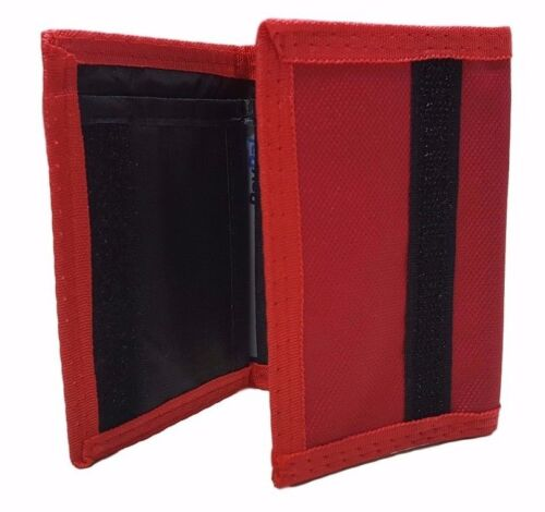 Men's Tri-fold Wallet Nylon Canvas All Colors New In Package