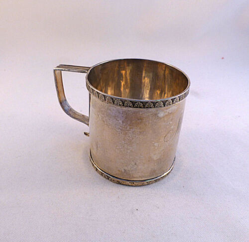 """Coin Silver William Braisted Heyer 1798-1828 NY, NY Cup-2 5/8"""""""