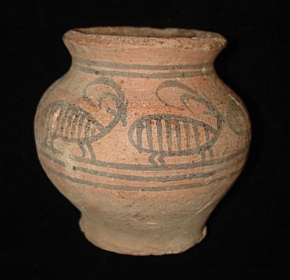 AWESOME!  PAINTED JUG WITH ANIMALS EARLY BRONZE AGE~3000BC  ANCIENT archaeolgy