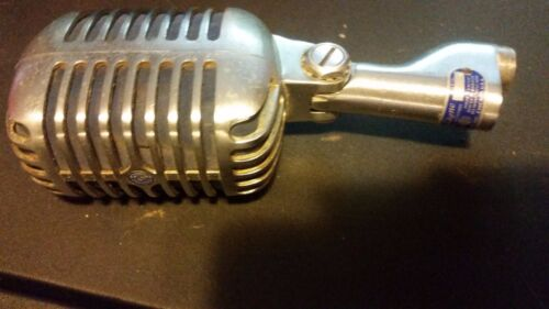 Shure Model 55S Unidyne Dynamic Elvis Microphone Made In U.S.A. For Parts Only