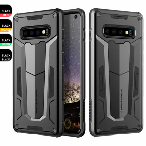 For Samsung Galaxy S10 Plus/S10/Note 9/8/S9 Tough Shockproof Armor Hybrid Case