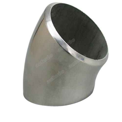 "1.65/"" Extruded 304 Stainless Steel Elbow 90 Degree Pipe For Manifold Header 3mm"
