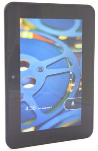 Amazon Kindle Fire HD 2nd Gen. 16GB, Wi-Fi, 7in Black Good Condition T4-4A