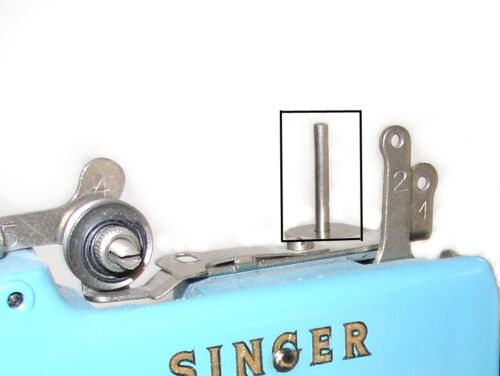 Singer 20 toy child Sewhandy sewing machine parts SPOOL ROD