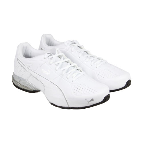 Puma Cell Surin 2 Fm Mens White Athlectic Lace Up Running Shoes