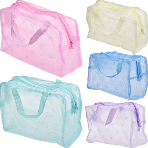 Women's Waterproof Makeup Bag Cosmetic Bags Travel Toiletry Wash Case Handbag