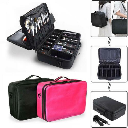 Professional Makeup Bag Cosmetic Case Storage Handle Organizer Artist Travel Kit