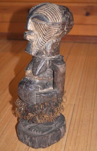 Antique African Songye Power Fetish Nkishi Figure Kifwebe Statue Congo, Africa
