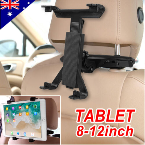 """Universal Car Mount Seat Headrest Holder For iPad Samsung Android Tablet 8-12"""""""