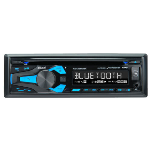 Pioneer DIN Bluetooth AM FM USB AUX CD Player Car Stereo w/ Built-in Amp