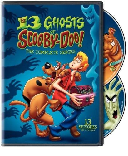 13 Ghosts of Scooby-Doo The Complete Series New DVD Region 4 (2 Discs)