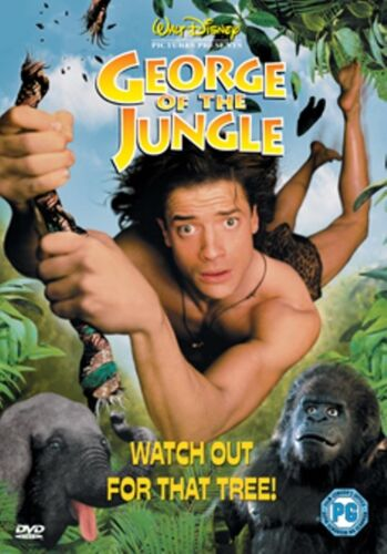 George Of The Jungle (Brendan Fraser Disney) New DVD R4