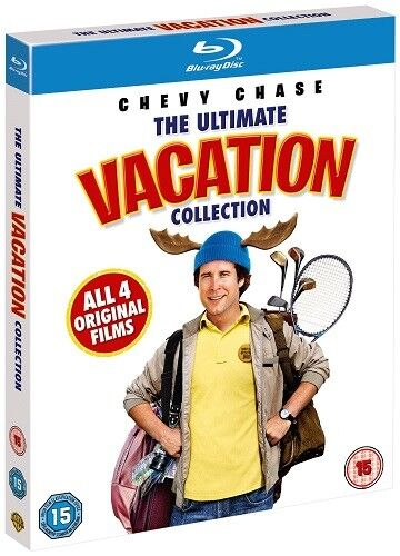National Lampoon's Vacation Lampoons Ultimate Collection Blu-ray Reg-B (4 Discs)