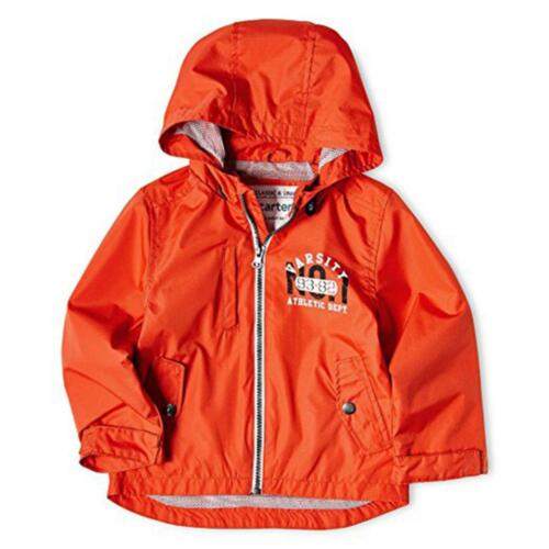 Carter's Toddler Boys Orange Light Weight Jacket Size 2T 3T 4T