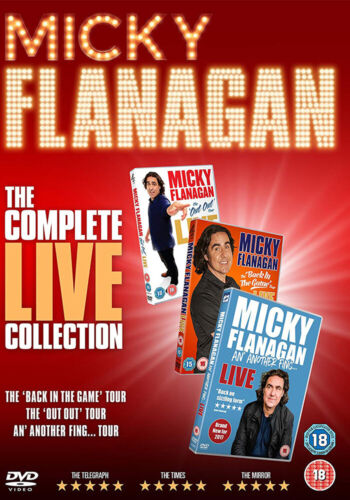 Micky Flanagan The Complete Live Collection (Micky Flanagan) New DVD Box Set