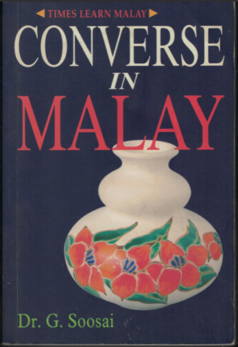 """""""Converse in Malay"""" by G. Soosai (Paperback, 1997)"""
