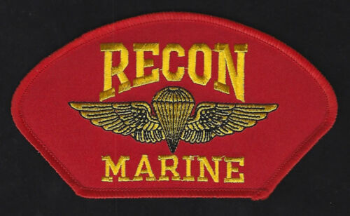 RECON JUMP WING HAT PATCH US MARINES ANGLICO WING PIN GUNNEY HIGHWAY PARACHUTEMarine Corps - 66531