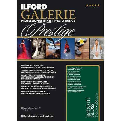 "Ilford GALERIE Prestige Smooth Gloss Paper (4x6"" - 100 Sheets)"