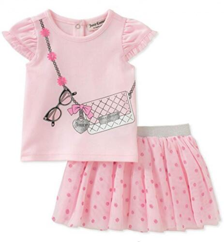 Juicy Couture Infant Girls Pink 2pc Scooter Set Size 3/6M 6/9M 12M 18M 24M