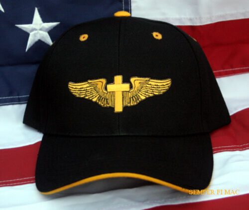 a0d874d15f0  29.1 CAD GOD IS MY CO PILOT CHRISTIAN WING JESUS CROSS HAT CAP HEAVEN PIN  UP CREW SOLOOther