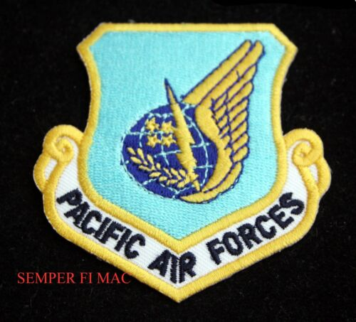 USAF PACIFIC AIR FORCES COLLECTOR PATCH PACAF JOINT BASE HARBOR HICKHAMAir Force - 66528
