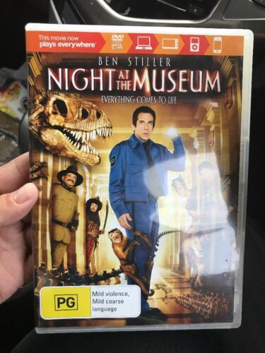 Night at the Museum  - DVD - Like NEW Region 4🎁