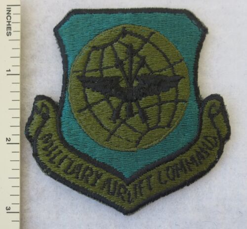 MILITARY AIRLIFT COMMAND US AIR FORCE PATCH Subdued USAF Vintage ORIGINALAir Force - 66528