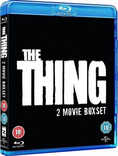 The Thing (1982) / The Thing 2011 Blu-ray Region B New Kurt Russell Double Pack