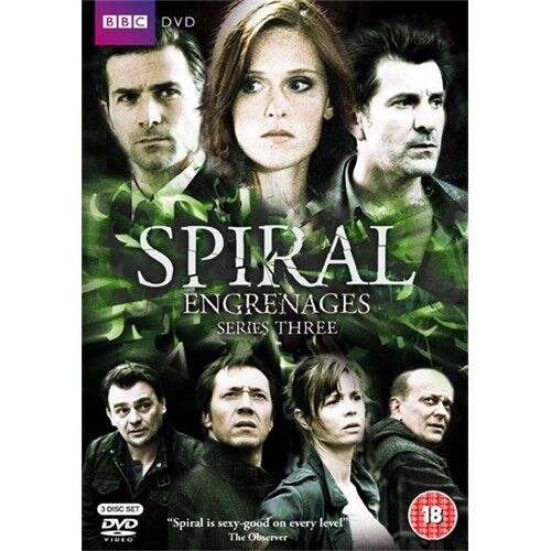 Spiral Series 3 TV Season Three Region 4 New DVD (3 Discs)