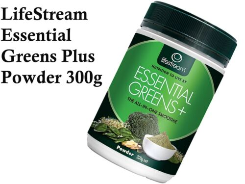 LIFESTREAM Life Stream Essential Greens+ Plus Powder 300g