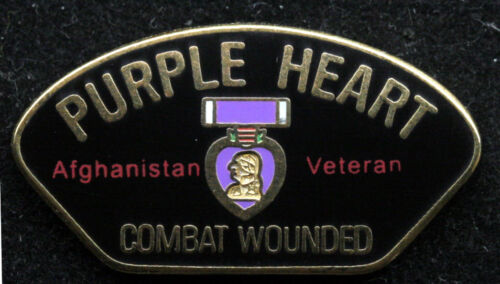 PURPLE HEART AFGHANISTAN LAPEL HAT PIN US ARMY MARINES NAVY AIR FORCE USCG OEFOther Militaria (Date Unknown) - 66534