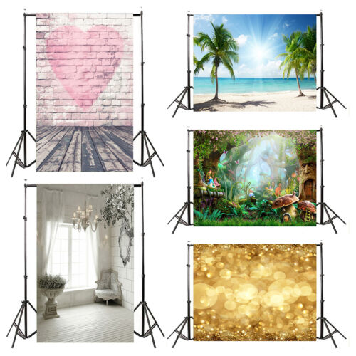 3*5FT Vinyl Background Cloth Wall Floor Photography Photo Backdrop Studio Props
