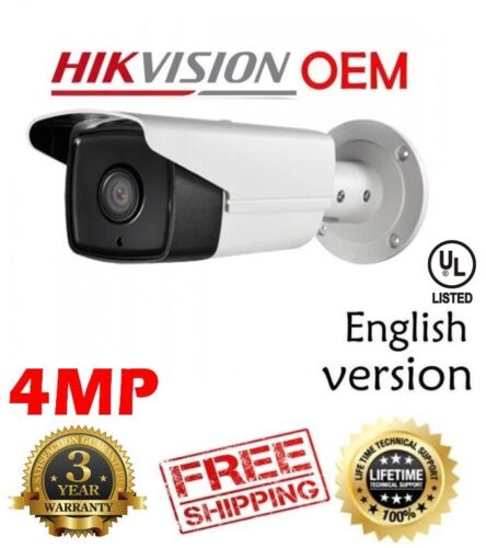 Hikvision(OEM) DS-2CD2T42WD-I5(NC324-XB) 4MP EXIR Bullet Outdoor Network Cam 4MM