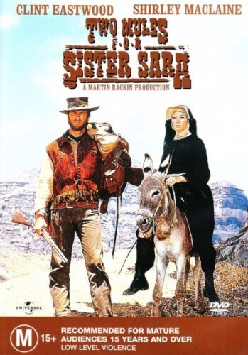 Two Mules for Sister Sara (Clint Eastwood) New DVD R4