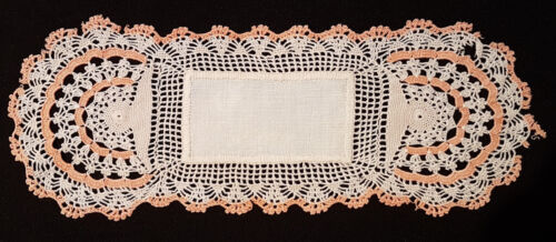 ANTIQUE LACE DOILEY, EXQUISITELY HANDMADE ~ WOULD LOOK BEAUTIFUL FRAMED